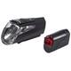 Trelock LS 460 I-GO POWER+LS 720 - Juego de luces para bicicleta - negro